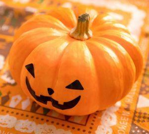 ハロウィンのかぼちゃジャックオーランタン