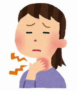 痛み 花粉 症 喉 の
