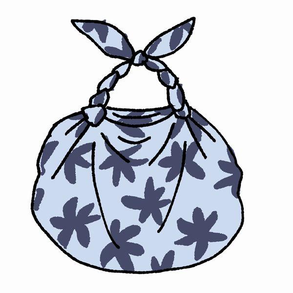 風呂敷バッグ